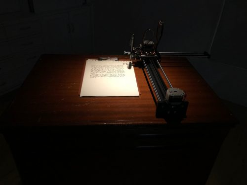 Handwriting Machine