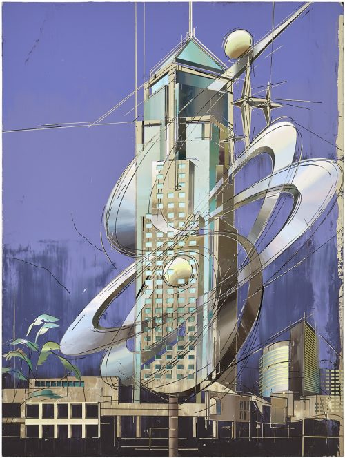 CUI Jie:Petroleum Building