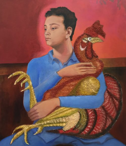 Boy with Cock