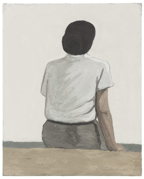 Untitled – Sitting Position at Seaside No.4