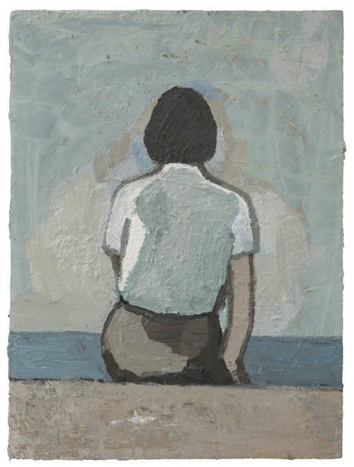 Untitled – Grey Skirt Sitting Position