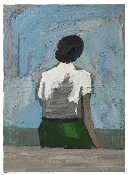 Untitled – Green Skirt Sitting Position