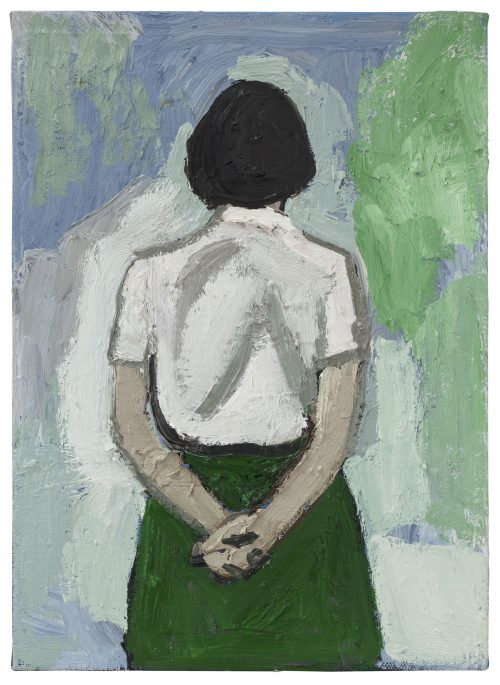 Untitled – Green Skirt Standing Position