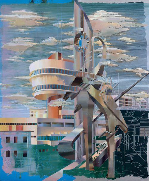 Cui Jie, The Peak Tower 3, 2019